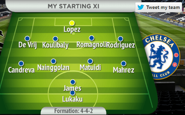 How the Chelsea team would look