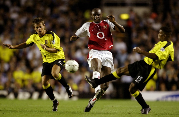 Patrick Vieira is one of the best players never to win the Champions League