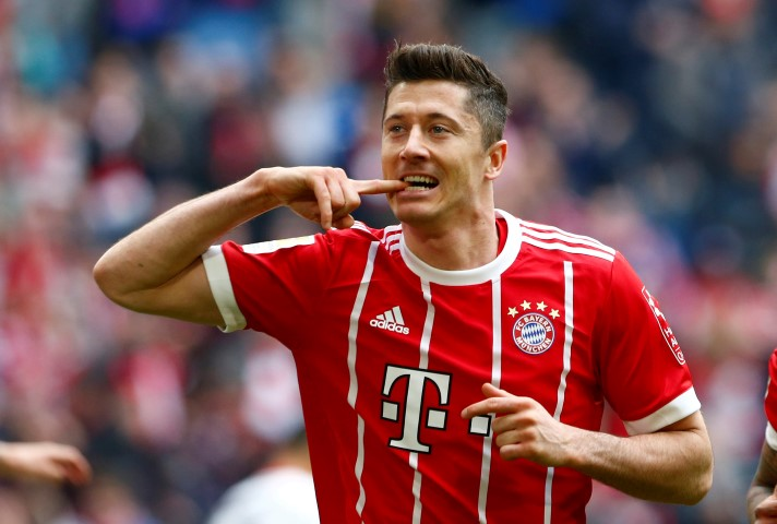 players never to win the Champions League Robert Lewandowski