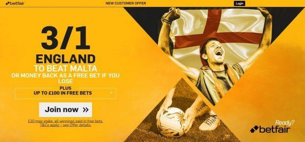 England vs Malta live stream free: predictions, betting odds, Head-to-Head, starting lineups, TV schedule & team news