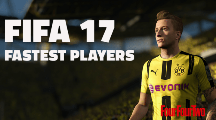 Top 20 Fastest Players in FIFA 17