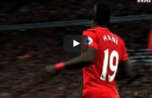 Liverpool 1-0 West Brom Sadio Mane Goal Video Highlight