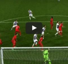 Liverpool 2-1 West Brom Gareth McAuley Goal Video Highlight