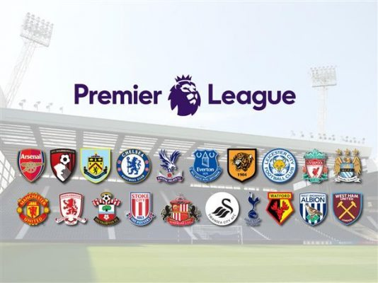 Premier League Club's Salaries 2016-17