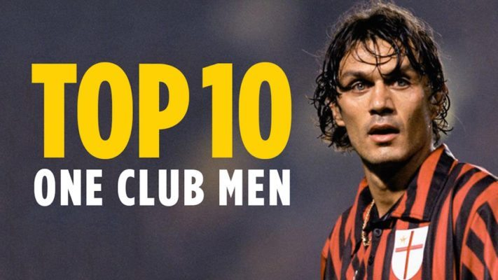 Top 10 One Club Men in world football
