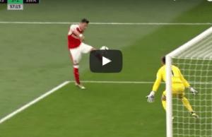 Arsenal 3-1 Swansea Mesut Ozil Goal Video Highlight