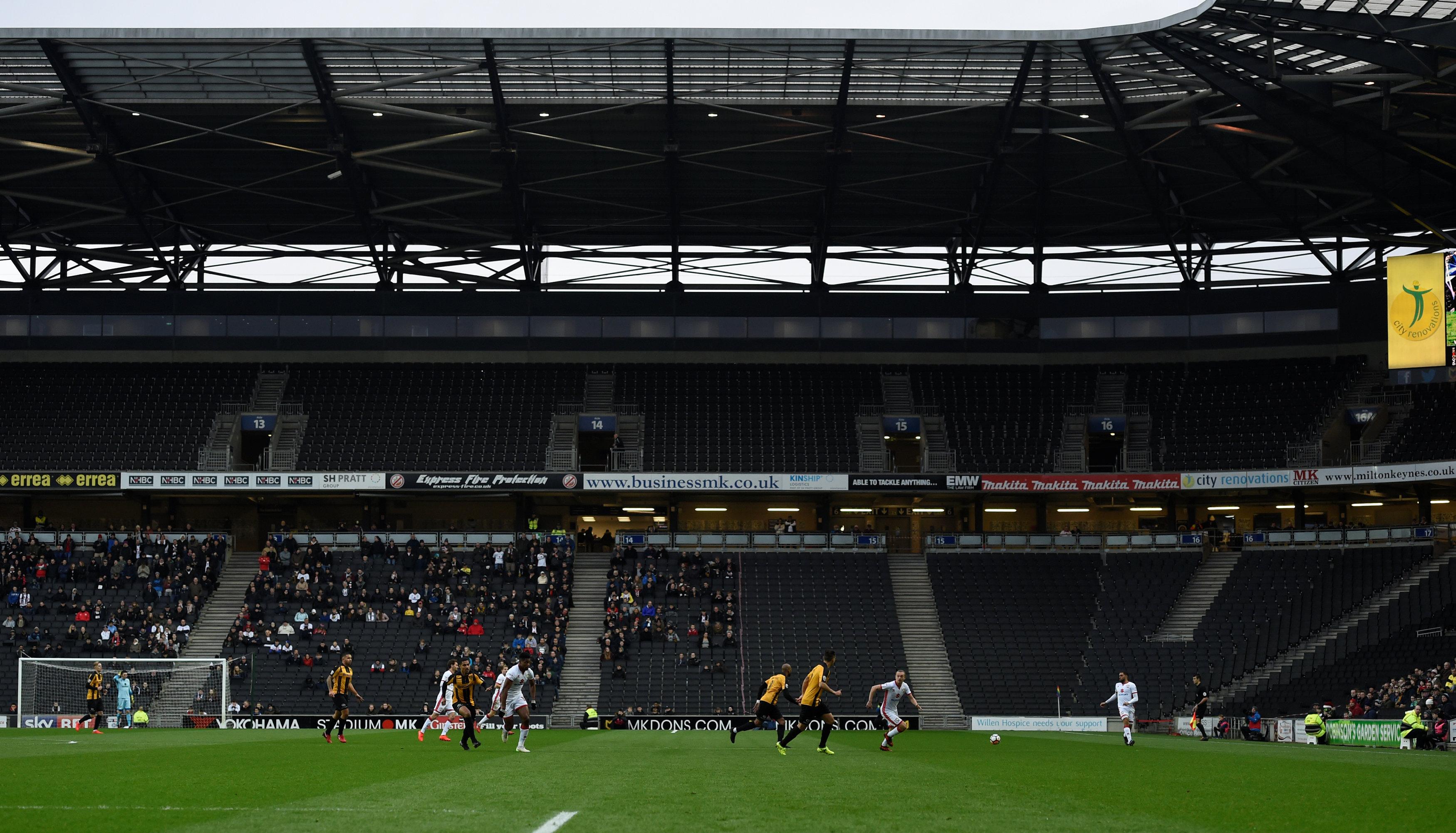 Worst stadiums in world football 2018