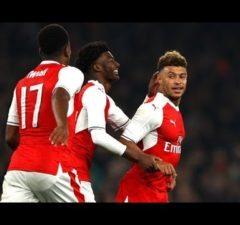 Arsenal 1-0 Reading Oxlade-Chamberlain Goal Video Highlight
