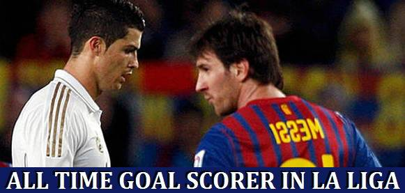 Highest La Liga Goal Scorers All-Time