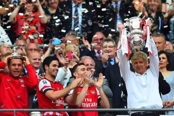 Arsenal part of the Past Winners of The English FA Cup
