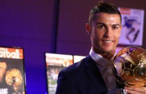 Ballon D'or Award Winner 2016 - Cristiano Ronaldo Wins 2016 Ballon D'Or Award