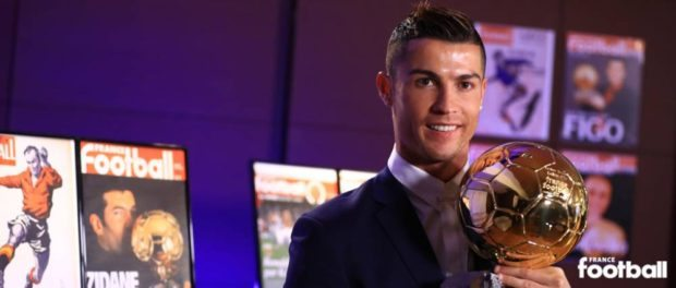Ballon D'or Award Winner 2016 - Cristiano Ronaldo Wins 2016 Ballon D'Or Award