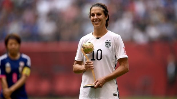 FIFA Women's World Cup Top Goal Scorers List