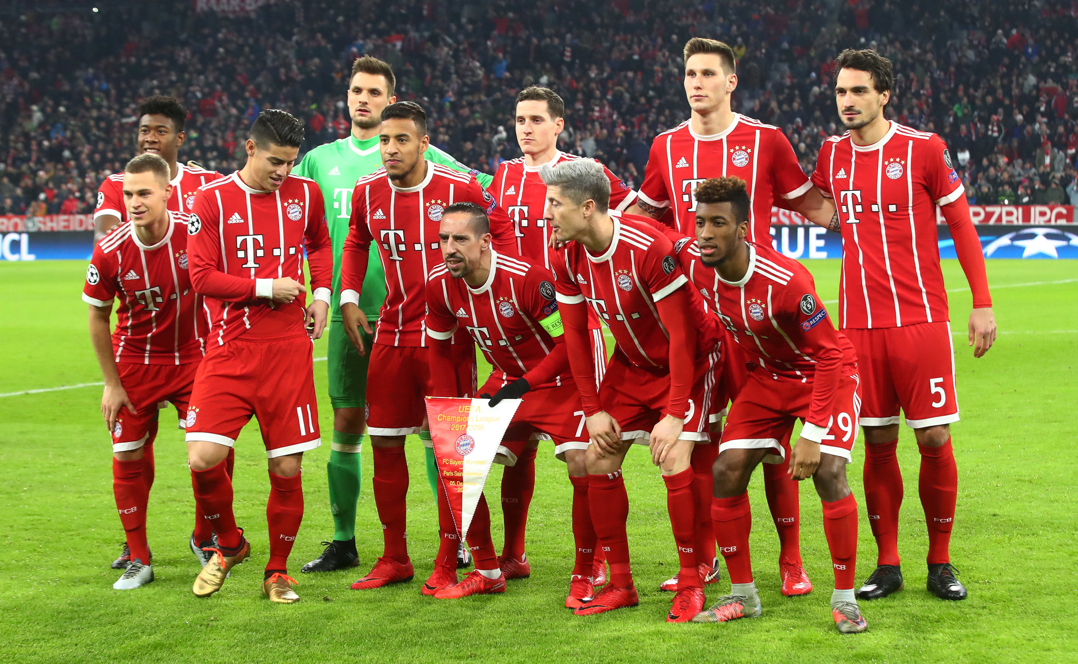 FC Bayern Munich Players Salaries 2018 (Weekly Wages) on inter milan, england national football team, brazil national football team, pep guardiola, borussia dortmund, germany munchen, germany national football team, sevilla fc, a.c. milan, uefa champions league, barca munchen, allianz arena, james rodríguez, argentina national football team, atlético madrid, rb leipzig, fcbayern munchen, paulaner munchen, fc porto, david alaba, fc barcelona,