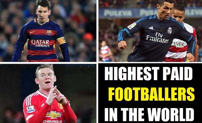 Footballers With Highest Salaries 2018