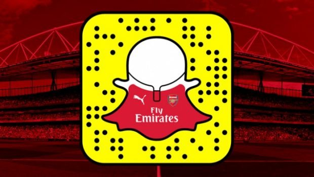 Popular Football Clubs Available on Snapchat