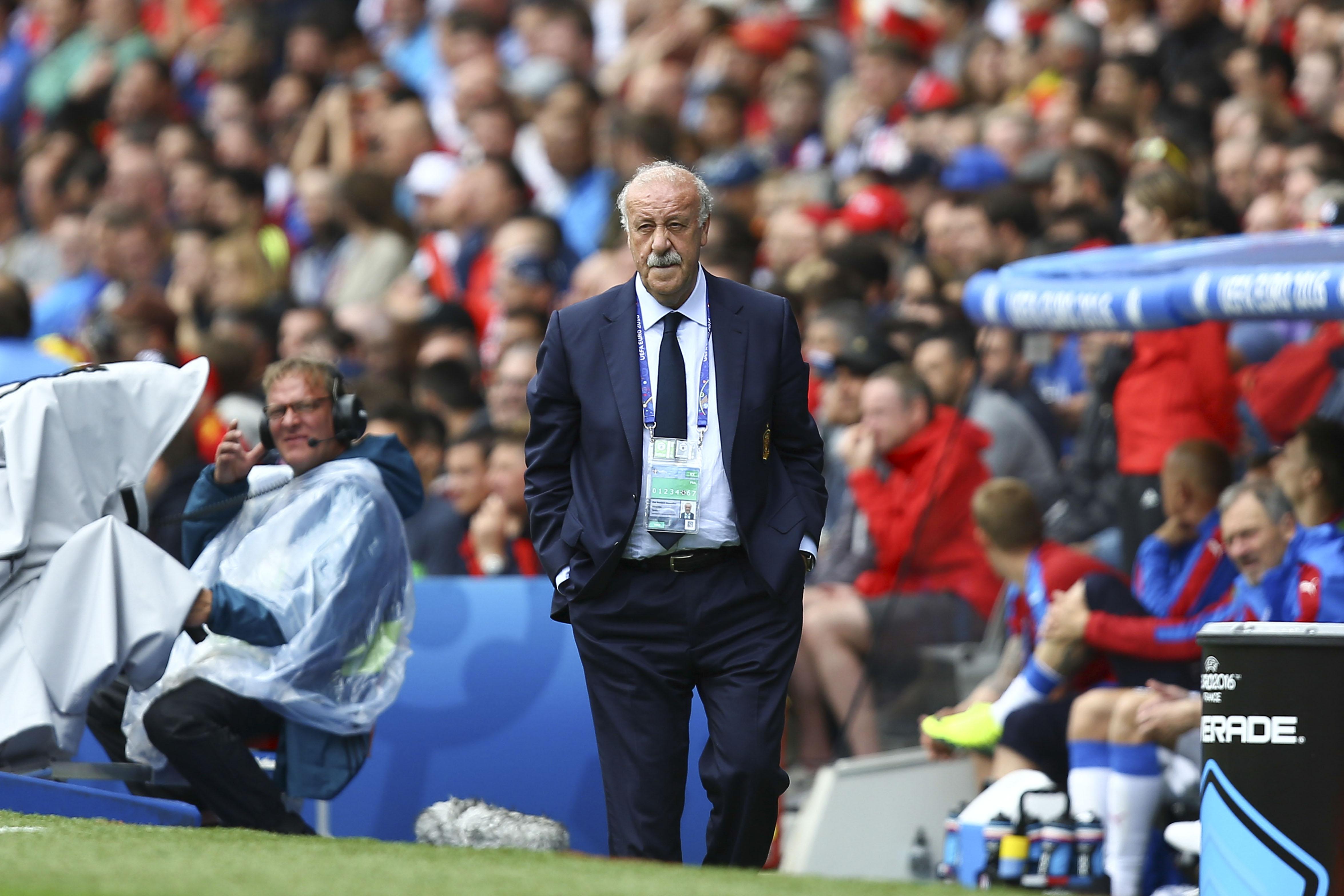 Top 10 craziest managerial sackings Vincente Del Bosque