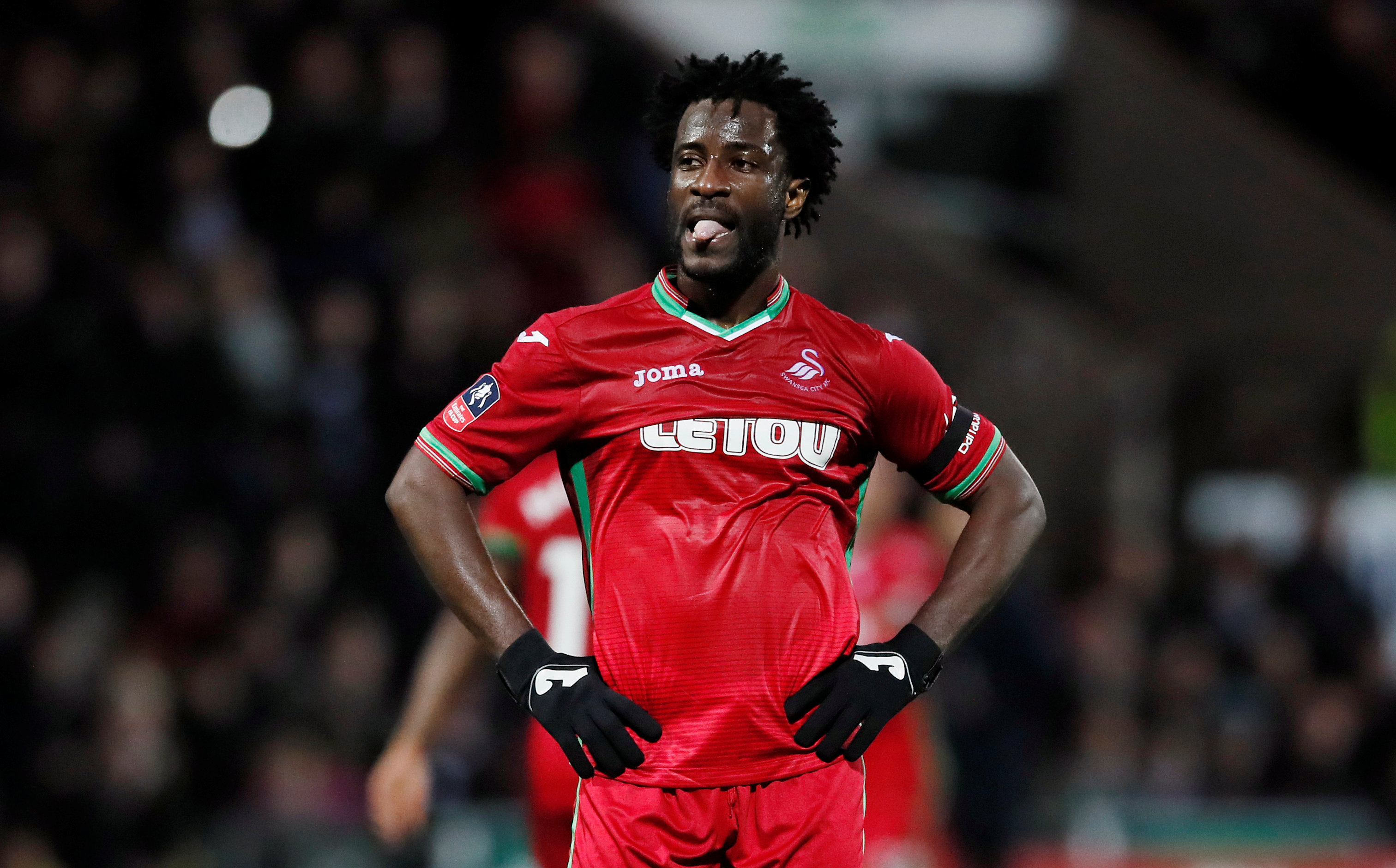 most disappointing Premier League players Wilfried Bony Swansea 2017 2018