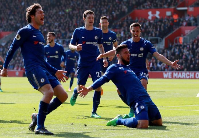 Top 5 Premier League teams caught offside the most this season 2017 2018 Chelsea FC