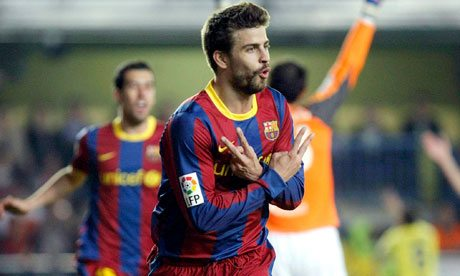 Gerard Pique has one of the Top 10 Biggest Release Clauses in World Football