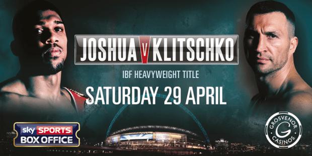 Joshua Klitschko stream - stream Joshua vs Klitschko free live streaming