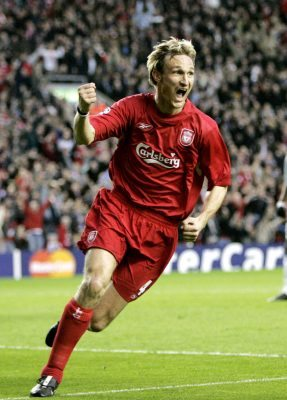 Sami Hyypia is one of the best goal-scoring defenders ever