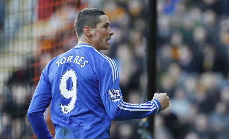 Best Champions League strikers Fernando Torres