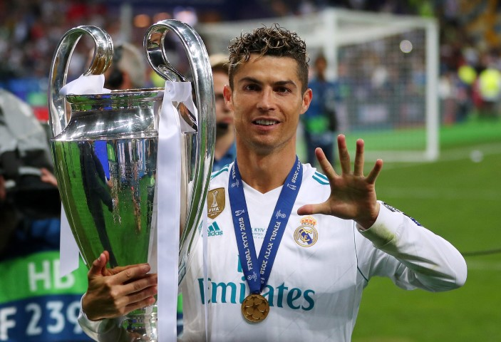 Cristiano Ronaldo Best Champions League midfielders