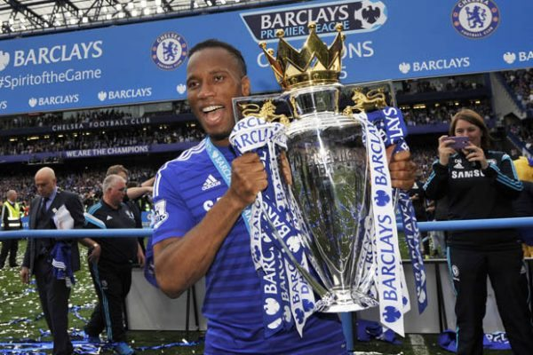 Most goals in a Premier League season Chelsea - Didier Drogba