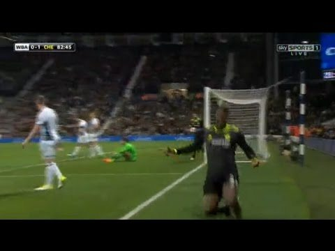 West Brom 0-1 Chelsea Michy Batshuayi Goal Video Highlight