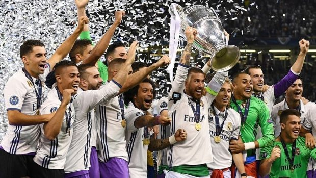 Real madrid UEFA Champions League winner 2017