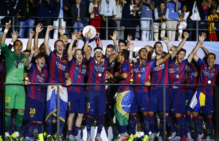 Most successful Champions League teams FC Barcelona