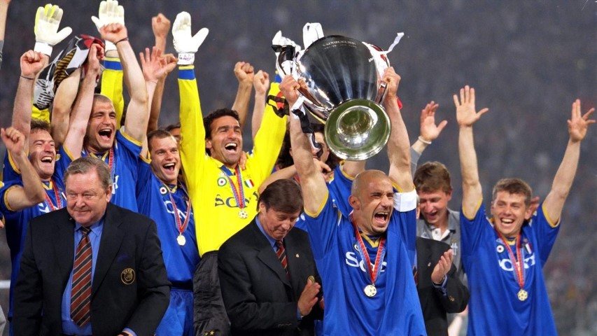 Most successful Champions League teams Juventus