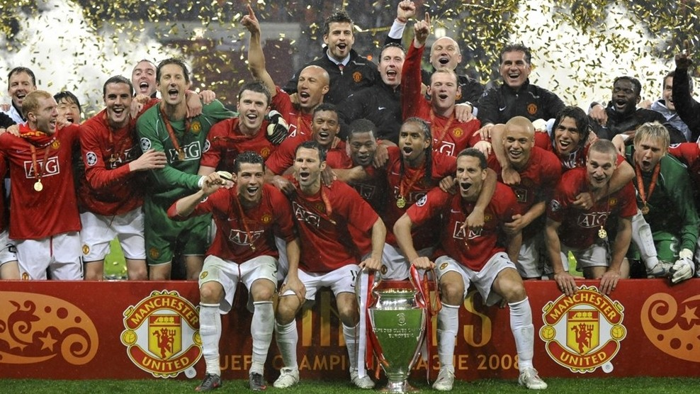 Most successful Champions League teams Manchester United