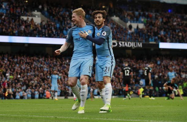 Manchester City Players Silva De Bruyne 2018 19