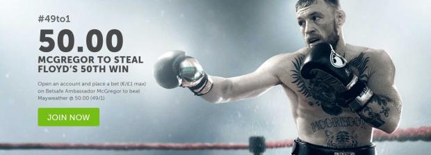 Conor McGregor vs Floyd Mayweather stream