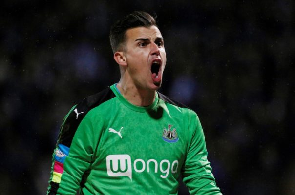 Newcastle United FC Squad, Team, All players Darlow 2018 2019