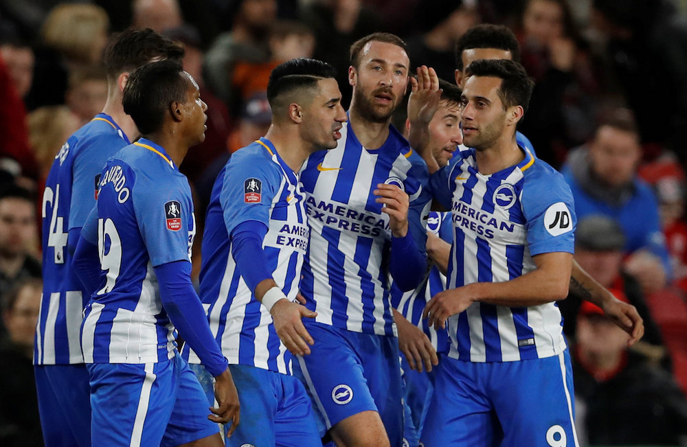 Brighton and Hove Albion Squad, Team, All Players 2018/19