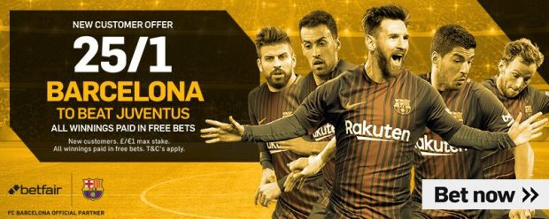Champions League Betting Tips Predictions Barcelona 12th 13th September 2017