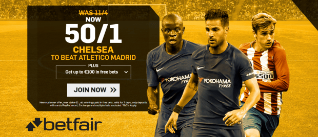 Chelsea vs Atletico Madrid Predictions, Betting Tips and Match Previews