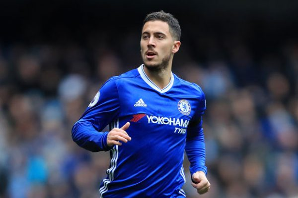 Chelsea's predicted starting XI vs. Nottingham Forest: Attackers, Eden Hazard, Chelsea FC