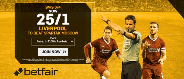 Liverpool vs Spartak Moscow Predictions, Betting Tips and Match Previews