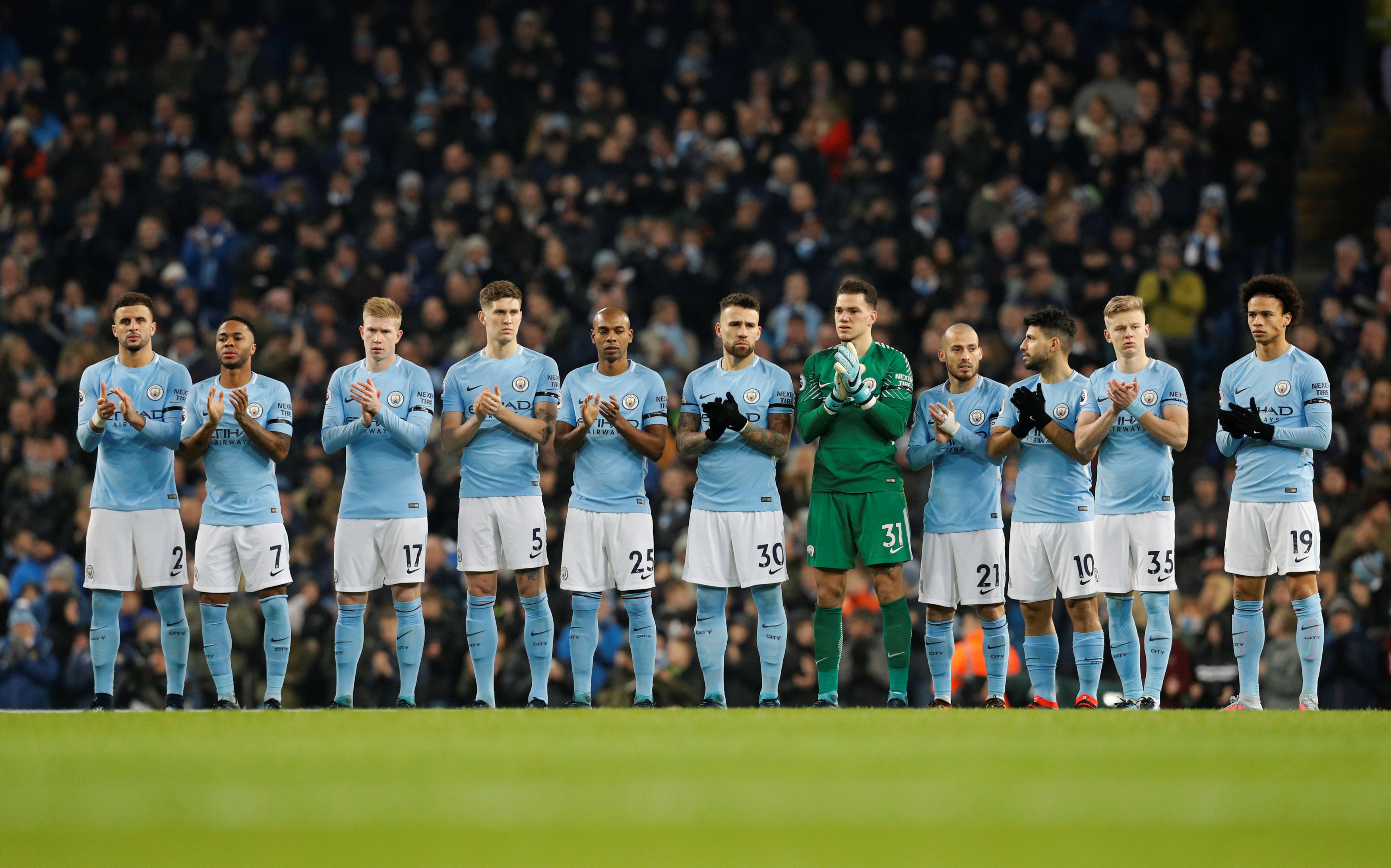 Manchester City squad 2019 all players 2018/19