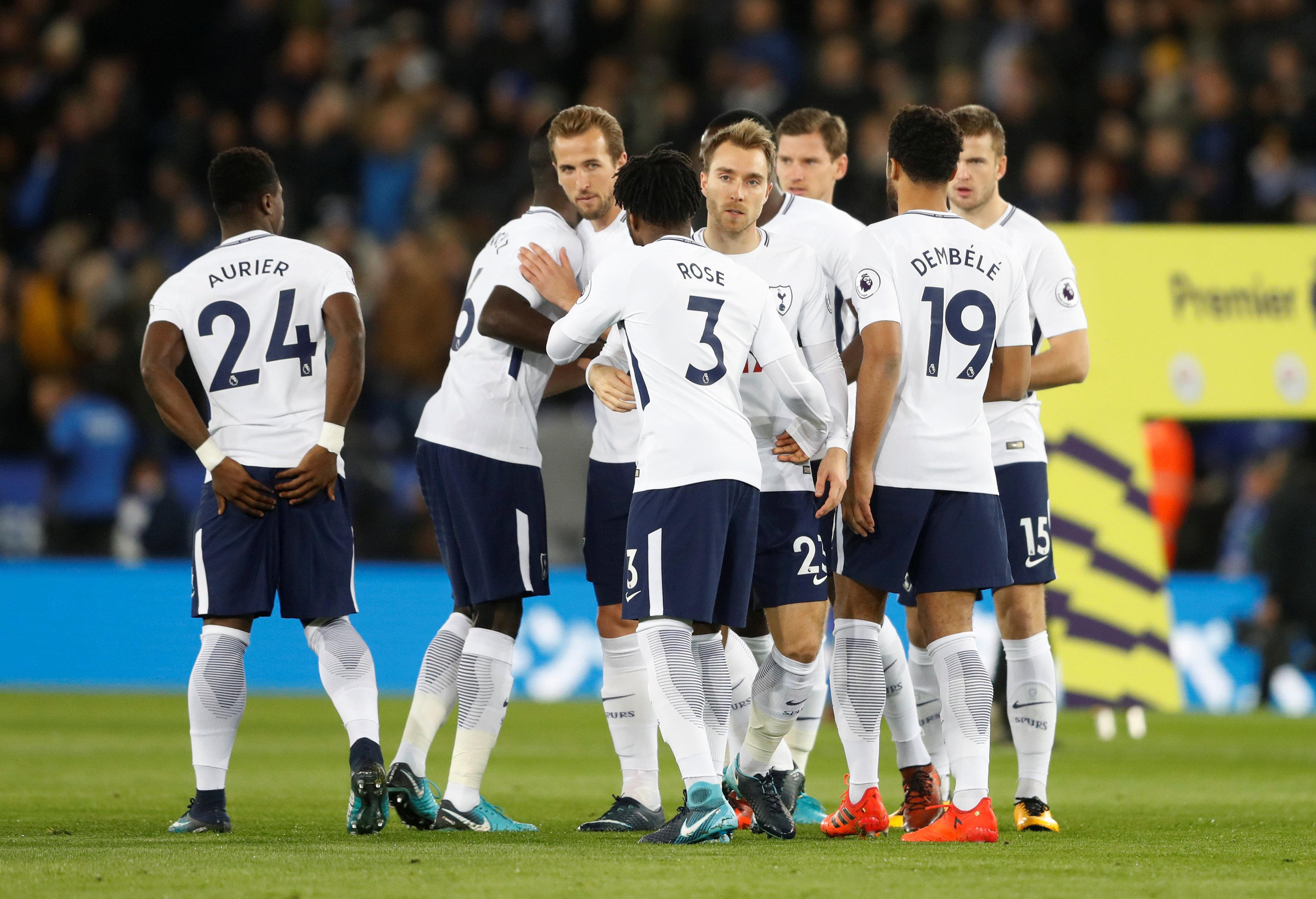 Tottenham Champions League Squad 2018