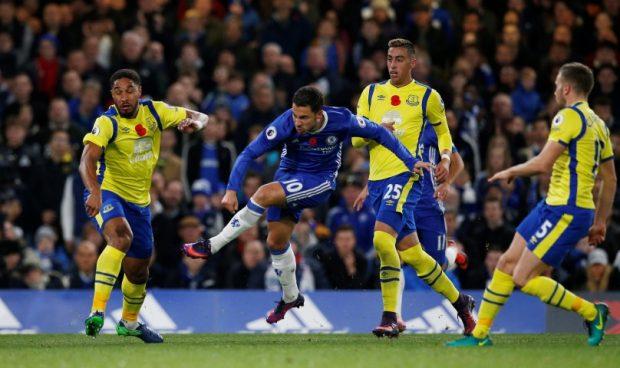 Chelsea vs Everton Head To Head Record & Results Hazard