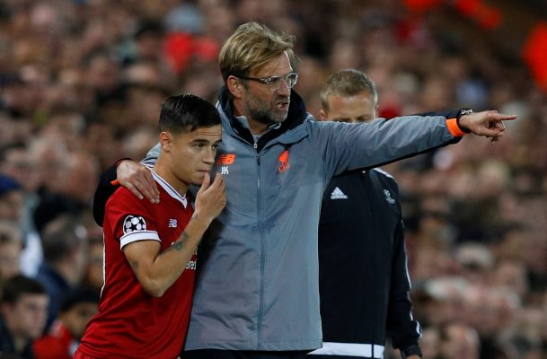 Barcelona preparing January bid for Philippe Coutinho