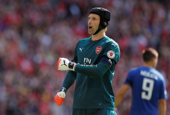 Predicted Arsenal starting lineup vs Tottenham Hotspur Cech