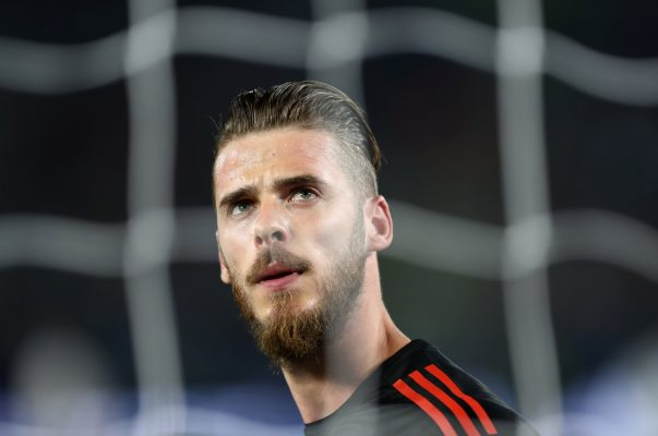 Predicted Manchester United starting lineup vs Liverpool De Gea