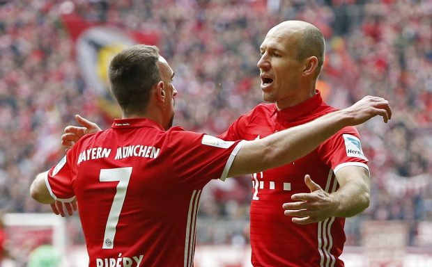 Top 10 Players Who Will Be Free Agents In 2018 Robben Ribery