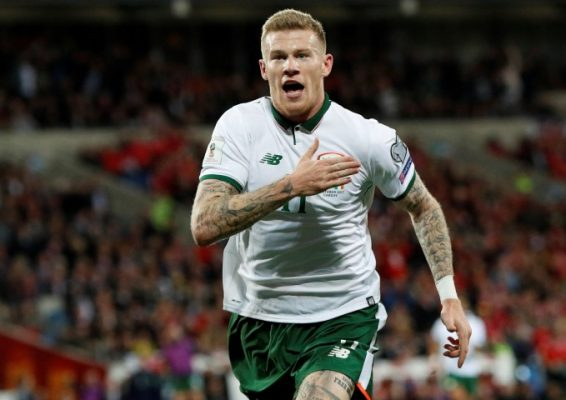Who will Ireland play in the World Cup play offs?